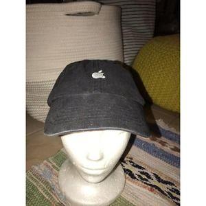 Vintage Apple Macintosh Black Hat